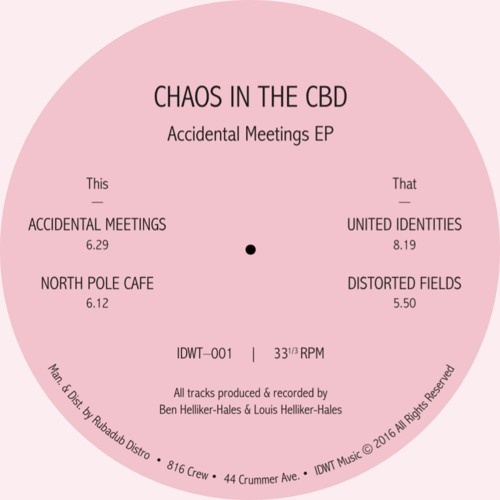 Chaos in The CBD -Accidental Meetings