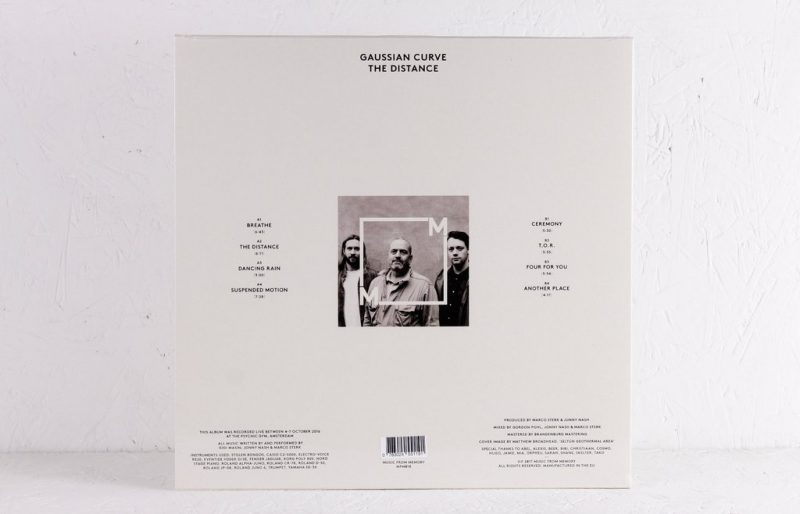 Gaussian Curve – The Distance – Vinyl LP