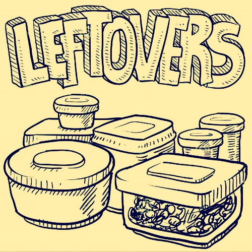 Tuck in to our tasty Leftovers