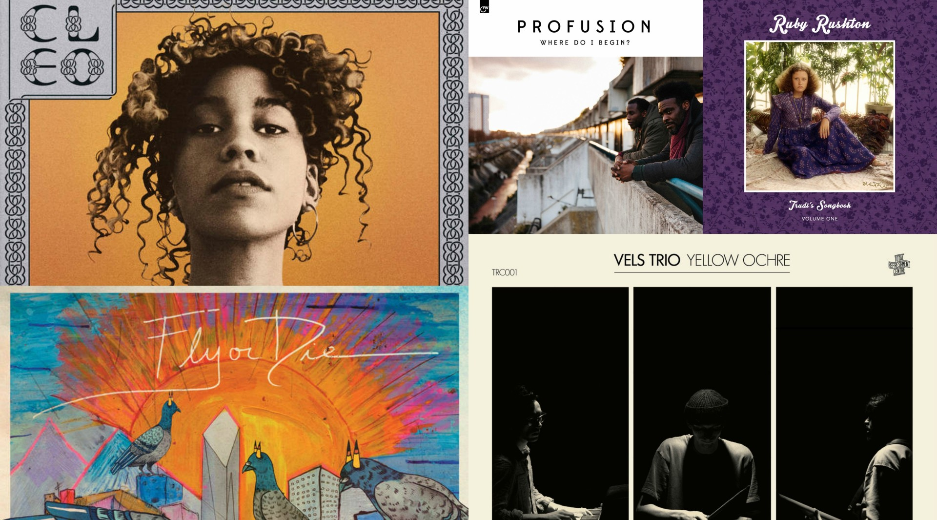 Five albums you need to hear.
