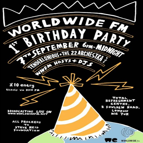 Worldwide FM 1st Birthday