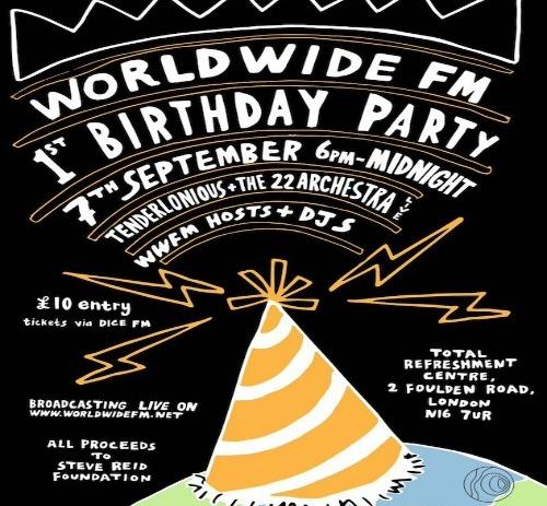 Worldwide FM 1st Birthday