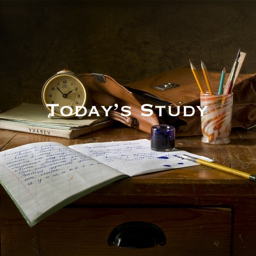 Playlist: Today's Study