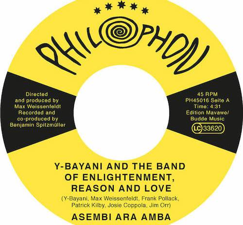 Y-Bayani And His Band of Enlightenment, Reason And Love share two-track 7""