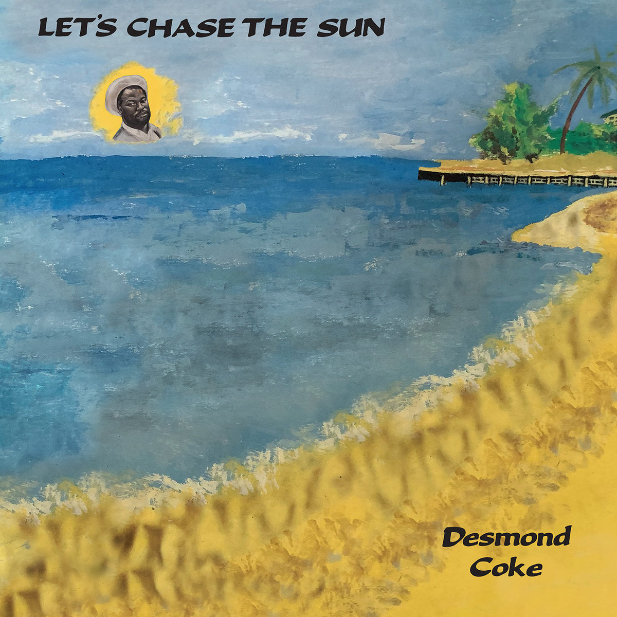 For their next release, the label presents singer, songwriter, composer and multi-instrumentalist, Desmond Coke's rare, privately pressed LP, Let's Chase The Sun in edited form.