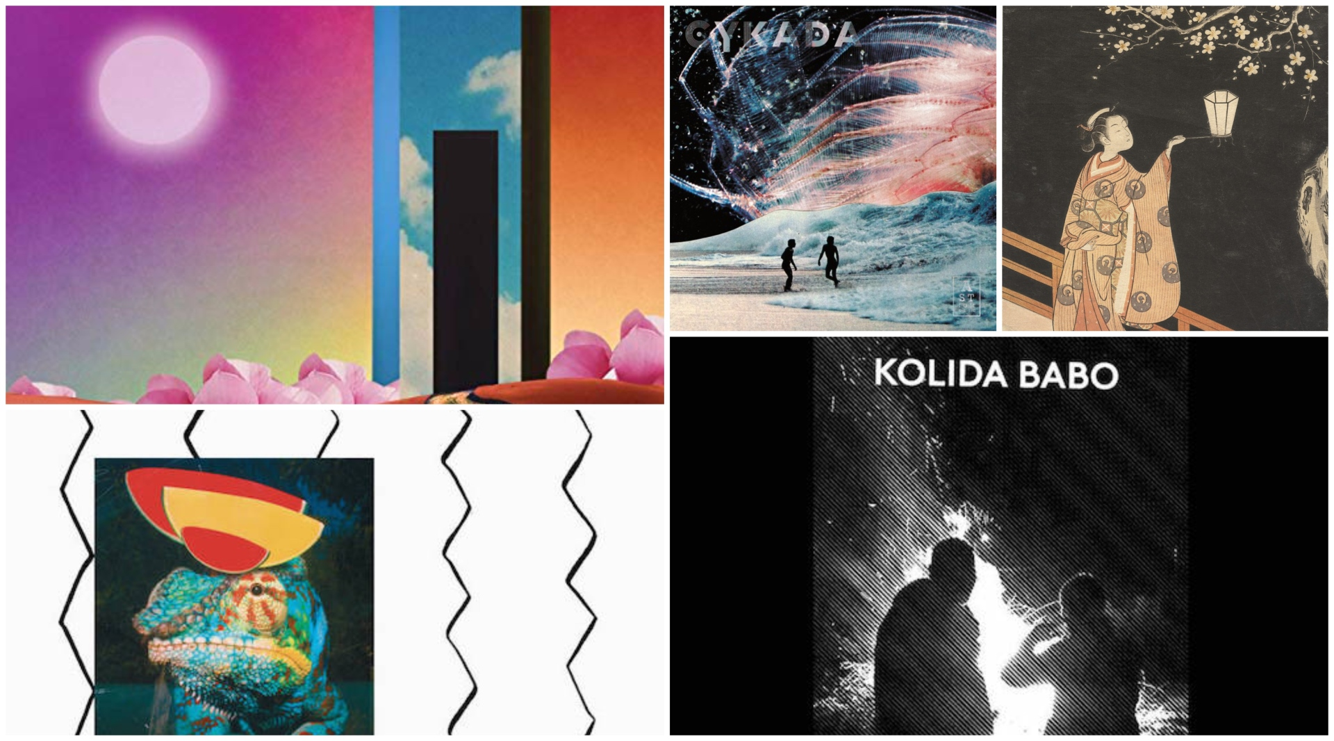 Between The Cracks: 5 New Releases You Need To Hear.