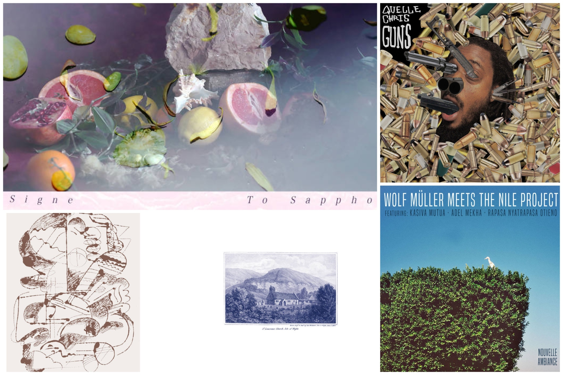 Between The Cracks: 5 new albums worth your attention.