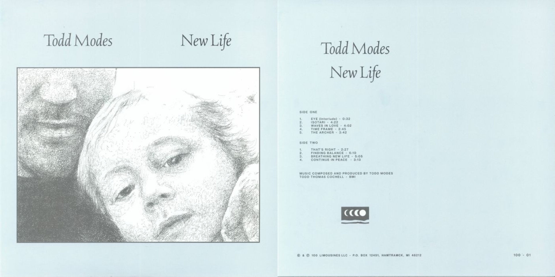 Todd Modes (Detroit DJ releasing music on Going Good, FIT Sound, Golf Channel, M1 Sessions) New Life is a deeply personal meditation on the cycles of life and time.