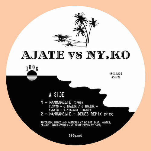 AJATE x NY.KO - Mammamelie : With Regularity