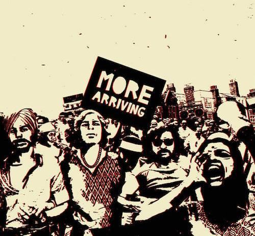 Sarathy Korwar's More Arriving LP artwork