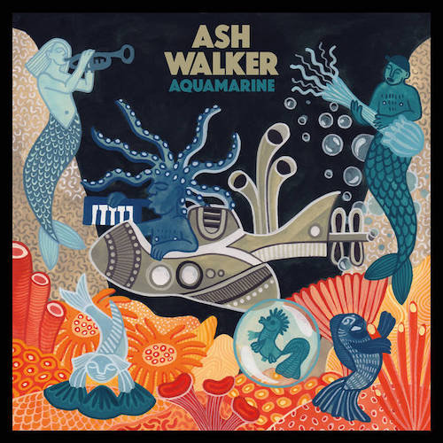London-based multi-instrumentalist Ash Walker's third album, Aquamarine, is set for release on July 19 via Night Time Stories.