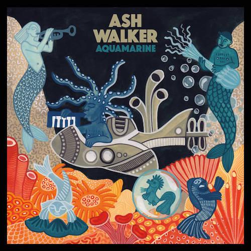 London-based multi-instrumentalist Ash Walker's third album, Aquamarine, is set for release on July 19 via Night Time Stories.