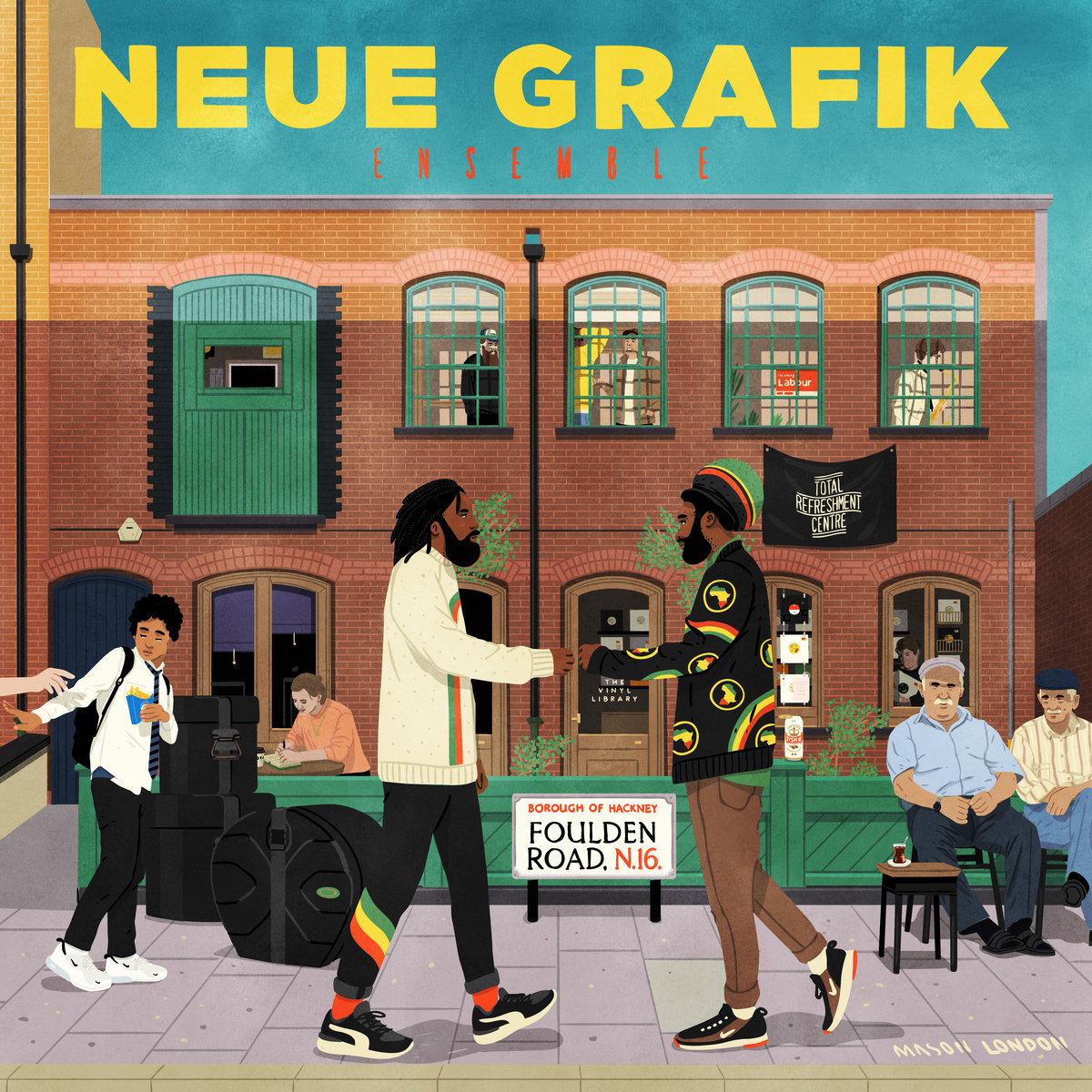Total Refreshment Centre releasing Neue Grafik Ensemble's Foulden Road