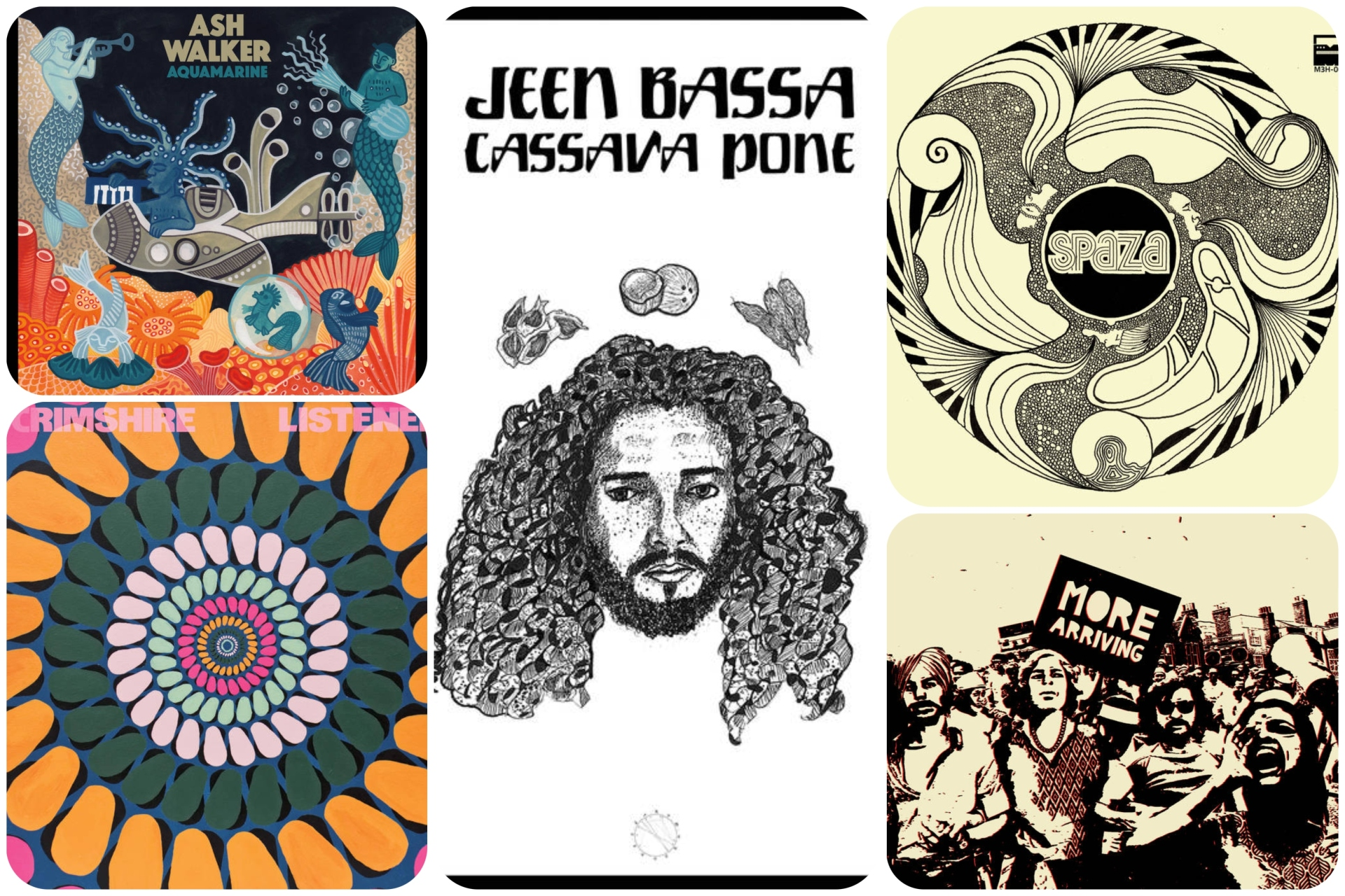 Stream music from SPAZA, Sarathy Kowar, Ash Walker, Jeen Bassa and Scrimshire.