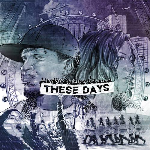 Daniel Casimir & Tess Hirst - These Days artwork