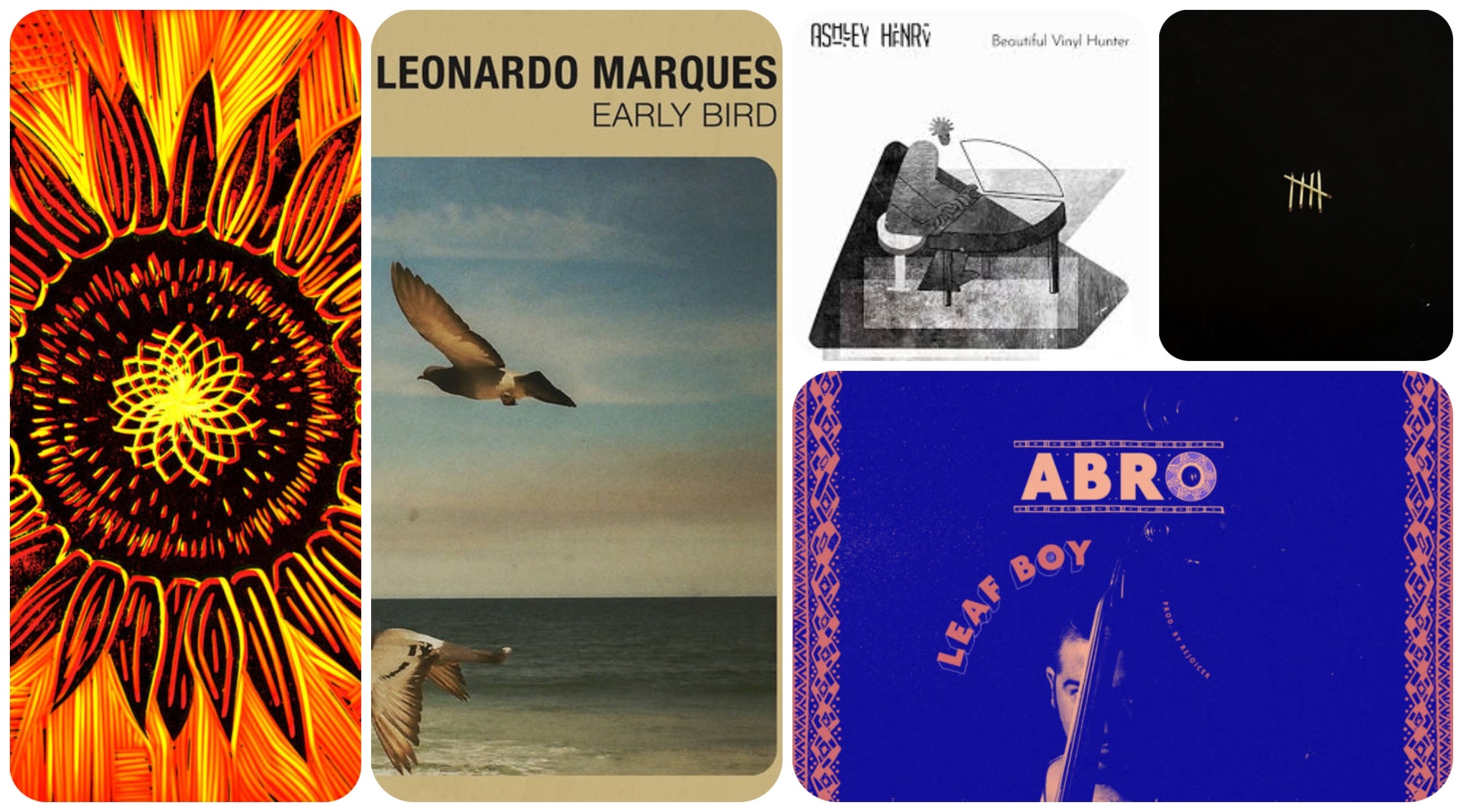 Don't miss out on these five new albums.