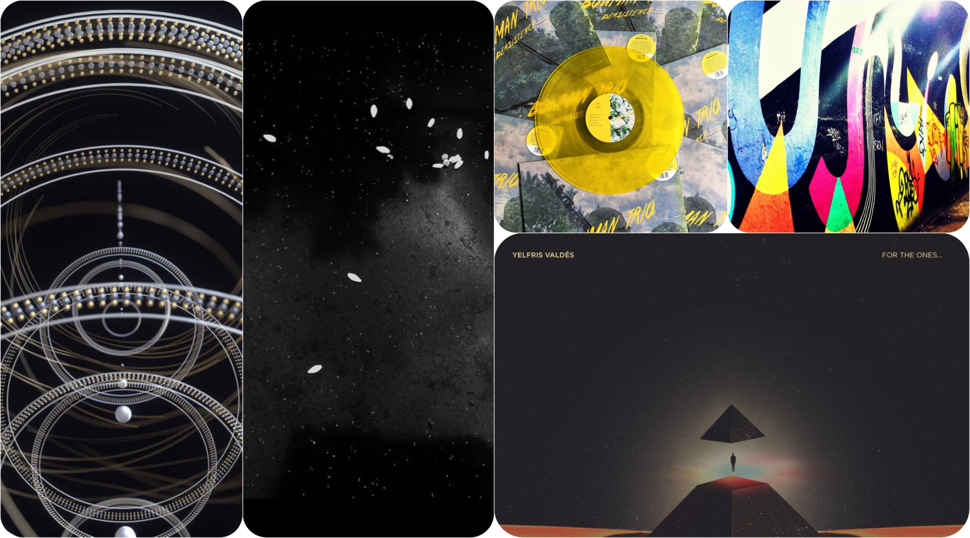 Five new records that we believe require your full attention.