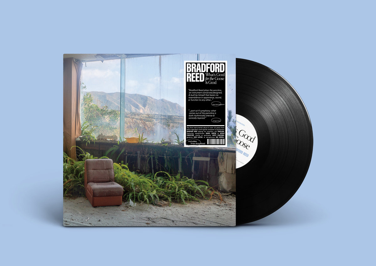 New album from Bradford Reed.
